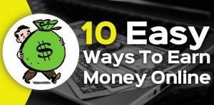 ऑन लाइन पैसे कमाने के 10 उपाय